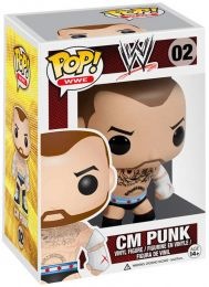 Figurine Funko Pop WWE #2 CM Punk