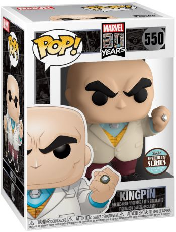 Figurine Funko Pop Marvel 80 ans #550 Kingpin
