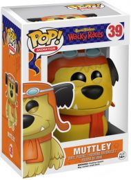 Figurine Funko Pop Hanna-Barbera #39 Muttley (Les Fous du volant)