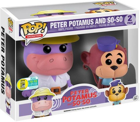 Figurine Funko Pop Hanna-Barbera #00 Peter Potamus & So-So - 2 pack