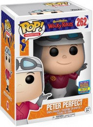 Figurine Funko Pop Hanna-Barbera #262 Peter Perfect (Les Fous du volant)