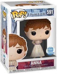 Figurine Funko Pop La Reine des Neiges II [Disney] #591 Anna