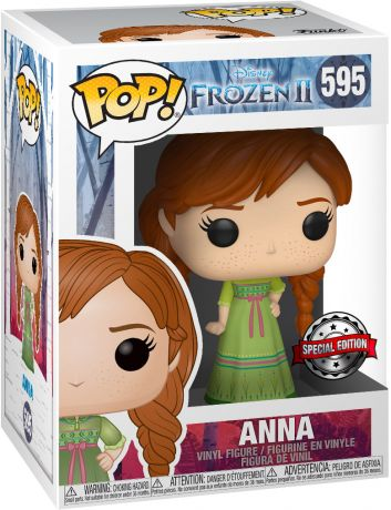 Figurine Funko Pop La Reine des Neiges II [Disney] #595 Anna