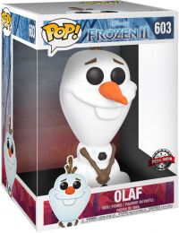 Figurine Funko Pop La Reine des Neiges II [Disney] #603 Olaf - 25 cm