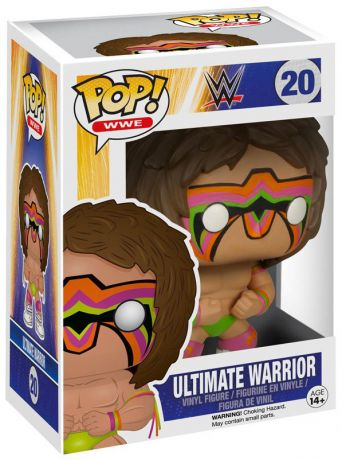 Figurine Funko Pop WWE #20 Ultimate Warrior