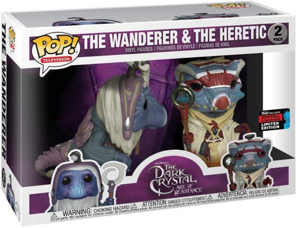 Figurine Funko Pop Dark Crystal #00 The Wanderer & The Heretic - 2 pack