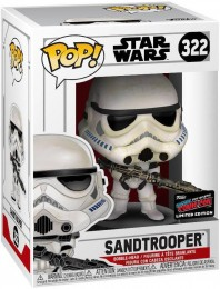 Figurine Funko Pop Star Wars : The Clone Wars #322 Sandtrooper