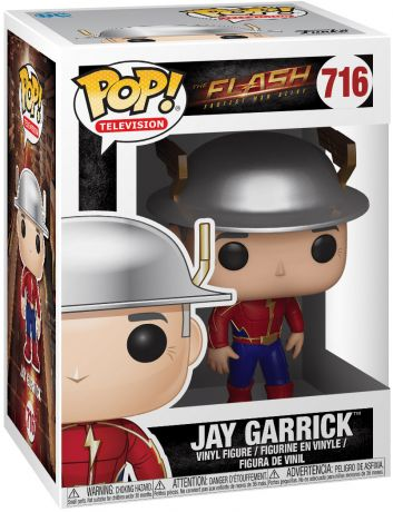 Figurine Funko Pop Flash [DC]  #716 Jay Garrick