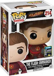 Figurine Funko Pop Flash [DC]  #214 Flash sans Masque