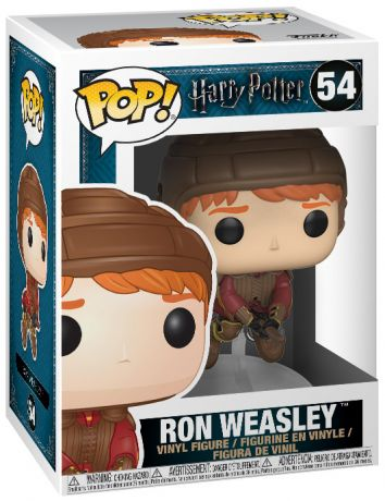 Figurine Funko Pop Harry Potter #54 Ron Weasley sur son Balai