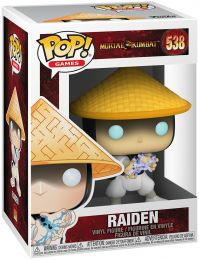 Figurine Funko Pop Mortal Kombat #538 Raiden