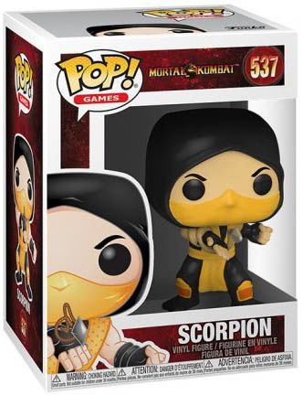 Figurine Funko Pop Mortal Kombat #537 Scorpion