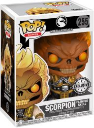 Figurine Funko Pop Mortal Kombat #255 Scorpion