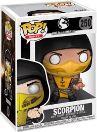 Figurine Funko Pop Mortal Kombat #250 Scorpion