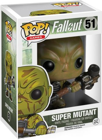 Figurine Funko Pop Fallout #51 Super Mutant