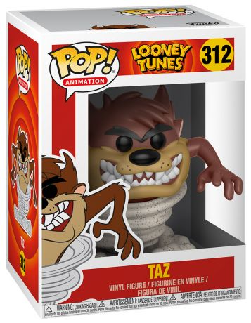 Figurine Funko Pop Looney Tunes #312 Taz