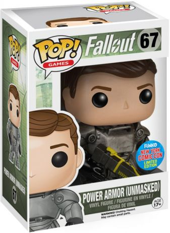 Figurine Funko Pop Fallout #67 Power Armor sans Masque