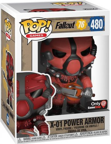 Figurine Funko Pop Fallout #480 X-01 Power Armor