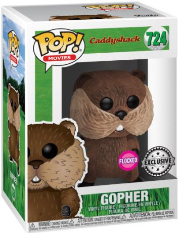 Figurine Funko Pop Le Golf en folie #724 Gopher - Floqué