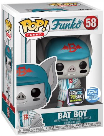 Figurine Funko Pop Fantastik Plastik #58 Bat Boy
