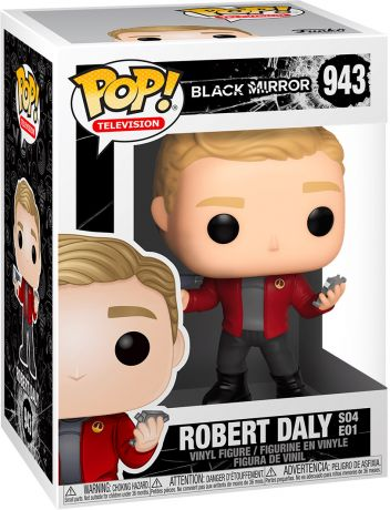 Figurine Funko Pop Black Mirror #943 Robert Daly