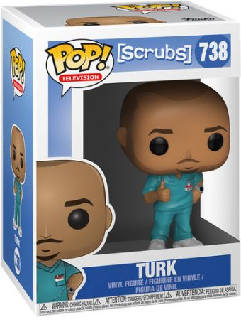 Figurine Funko Pop Scrubs #738 Turk