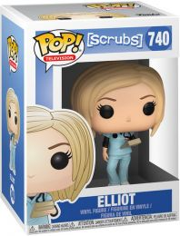 Figurine Funko Pop Scrubs #740 Elliot