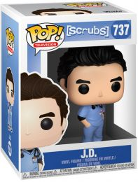 Figurine Funko Pop Scrubs #737 J.D.