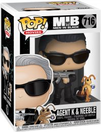 Figurine Funko Pop Men in Black [Marvel] #716 Agent K avec Neeble