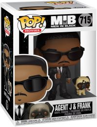 Figurine Funko Pop Men in Black [Marvel] #715 Agent J avec Frank