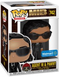 Figurine Funko Pop Men in Black [Marvel] #742 Agent M avec Pawny