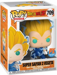 Figurine Funko Pop Dragon Ball #709 Super Saiyan 2 Vegeta