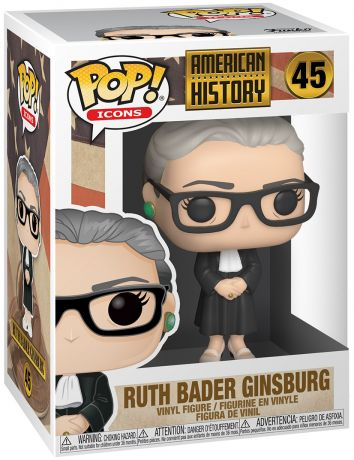 Figurine Funko Pop Personnalités Publiques #45 Ruth Bader Ginsburg