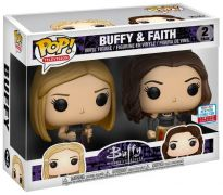 Figurine Funko Pop Buffy contre les vampires #0 Buffy & Faith - 2 Pack