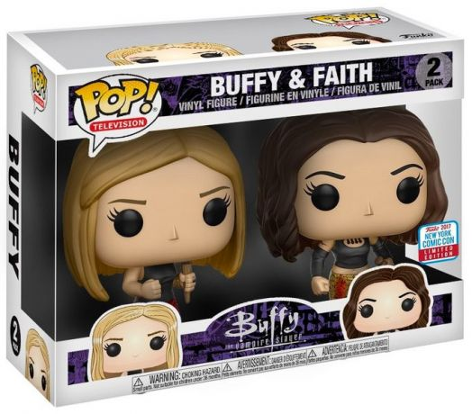 Figurine Funko Pop Buffy contre les vampires #00 Buffy & Faith - 2 Pack