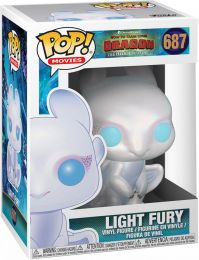 Figurine Funko Pop Dragons #687 Light Fury