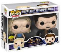 Figurine Funko Pop Buffy contre les vampires #0 Vampire Buffy & Vampire Angel - 2 Pack