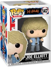Figurine Funko Pop Def Leppard #147 Joe Elliott