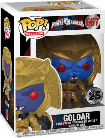 Figurine Funko Pop Power Rangers #667 Goldar
