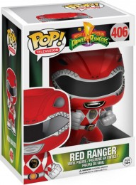 Figurine Funko Pop Power Rangers #406 Ranger Rouge