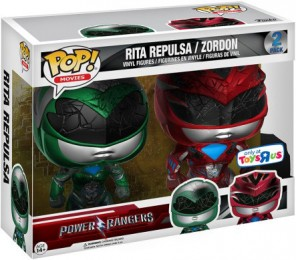 Figurine Funko Pop Power Rangers #0 Rita & Zordon - 2 Pack