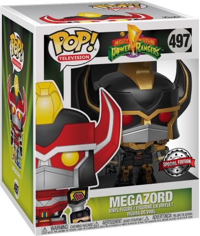 Figurine Funko Pop Power Rangers #497 Megazord - 15 cm