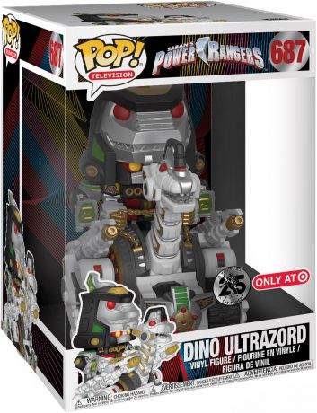 Figurine Funko Pop Power Rangers #687 Dino Ultrazord - 25 cm