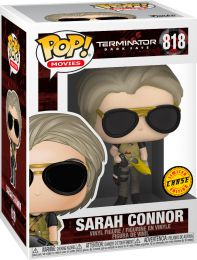 Figurine Funko Pop Terminator : Dark Fate #818 Sarah Connor [Chase]