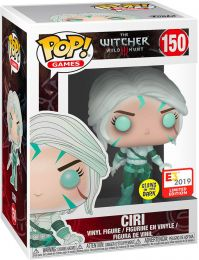 Figurine Funko Pop The Witcher 3: Wild Hunt #150 Ciri - Brillant dans le noir