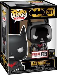 Figurine Funko Pop Batman [DC] #287 Batman Beyond - Chromé