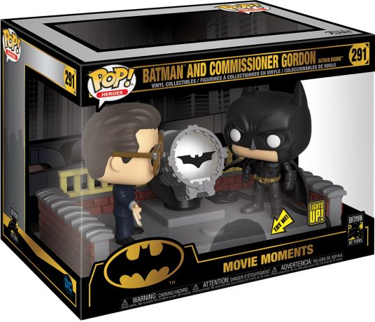 Figurine Funko Pop Batman [DC] #291 Batman et le Commissaire Gordon