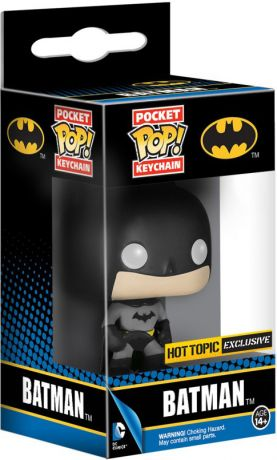 Figurine Funko Pop DC Super-Héros #00 Batman - Porte-clés