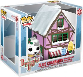 Figurine Funko Pop Peppermint Lane #2 Alice Cranberry avec le Restaurant du Croissant de Lune