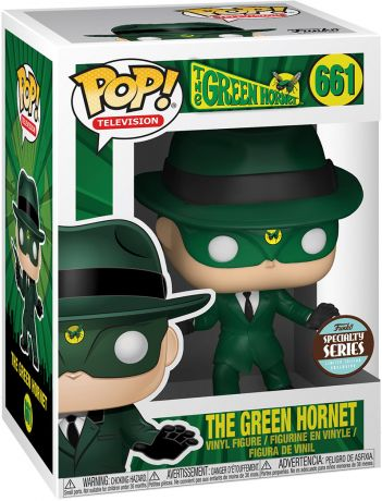 Figurine Funko Pop The Green Hornet #661 Le Frelon Vert
